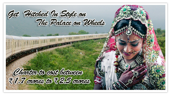 Palace on Wheels Wedding Charter