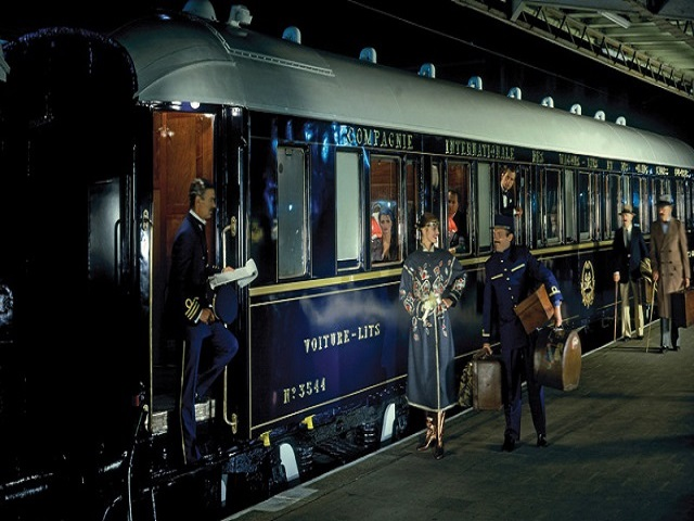 Venice Simplon-Orient-Express luxury train