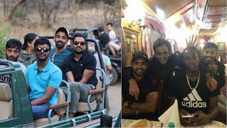 Palace on Wheels Offer Enthralling Ride for IPL Team Rajasthan Royals