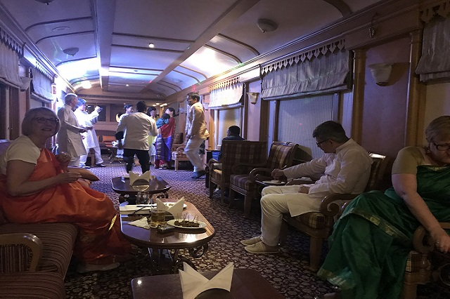 Palace on wheels' Christmas Gala Party