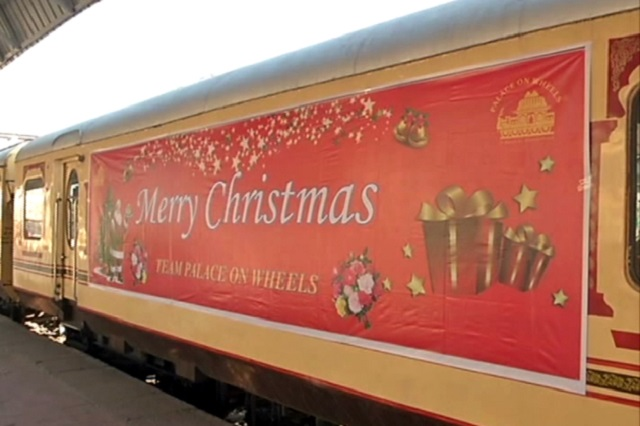 Celebrate Christmas and New Year with Palace on Wheels Train