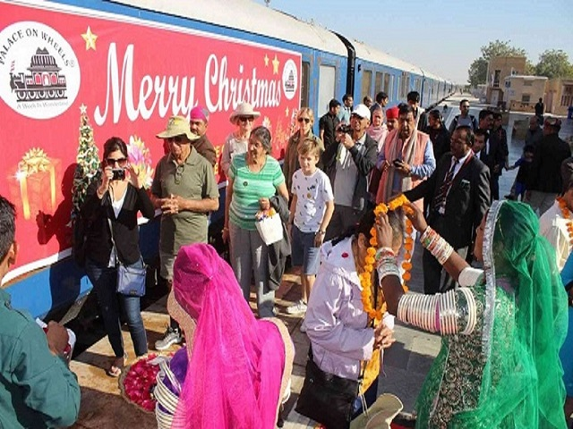 This Christmas with Palace on Wheels